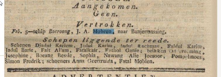 Historische Kranten - ja Mobron